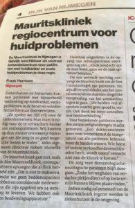 Mauritskliniek regiocentrum huidproblemen | Gelderlander